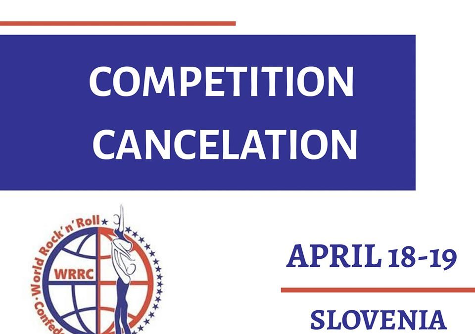 CANCELLATION OF THE COMPETITION IN LJUBLJANA