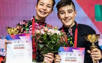 Interview with Rovedoni Fabio and Martinucci Arianna, Boogie Woogie-Juniors dancers