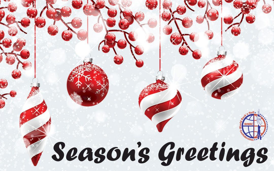 Seasons greetings from the WRRC President
