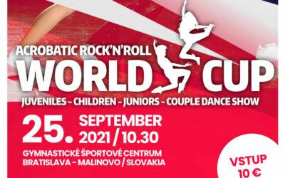 Live Results: World Cup Rock'n'Roll, Bratislava, 25.09.2021