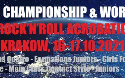 Live Results: Krakow, 16-17.10.2021